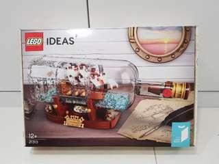 Lego 21313 Ship in a bottle - brand new MISB