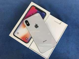 iPhone X 256Gb Silver Factory Unlcok NTc warranty
