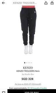 Brand New Kenzo Trousers Nero