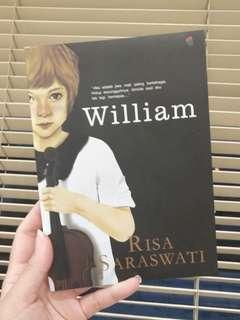 Novel William Risa Saraswati