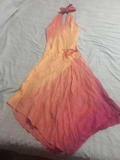Mango sexy halter dress