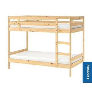 Ikea Mydal bunk bed double decker