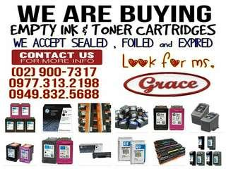 Bnew.Expired. Empty Ink and Toner Cartridges We Buy