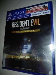 PS4 Resident Evil 7(sealed)