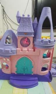 Castle girl fisher price pink