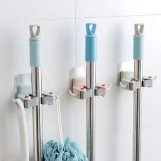 🚚 Mop Holder with 2 Hook