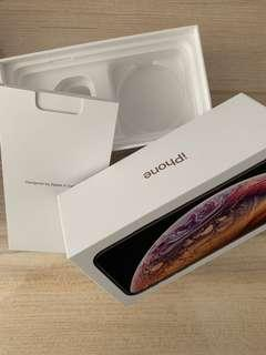 iPhone XS empty box