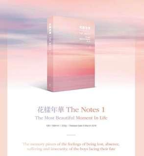 [PO] BTS 花樣年華 (HYYH) THE NOTES 1 - THE MOST BEAUTIFUL MOMENT IN LIFE | English version / Korean Version