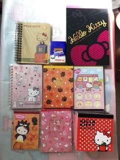 (包郵費) Kitty 簿