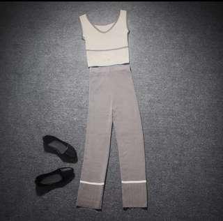 Knit TOP n pant set