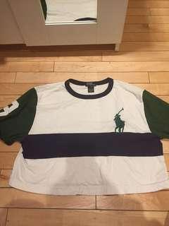 Vintage Ralph Lauren t shirt cropped