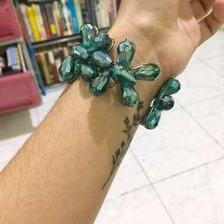 Sparkly Turquoise Bracelet