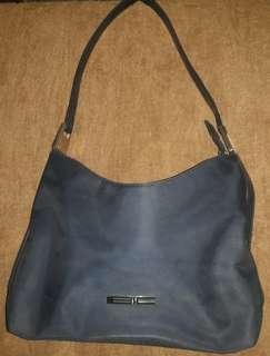 REPRICED!!!Blue handbag Authentic
