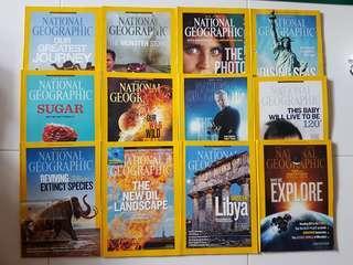 National Geographic Magazine 2013