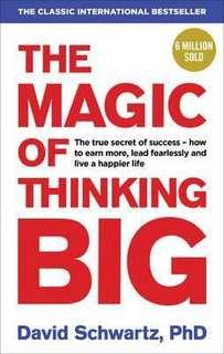 🚚 The Magic of Thinking Big