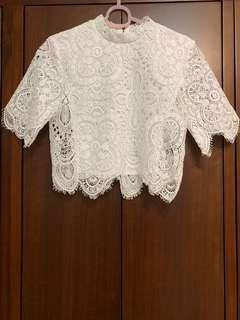 🚚 Mercci boutique 22 蕾絲上衣