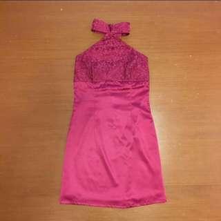 Love Bonito Cheongsam Halter Dress