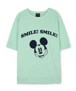 Mickey Mouse Oversized Top