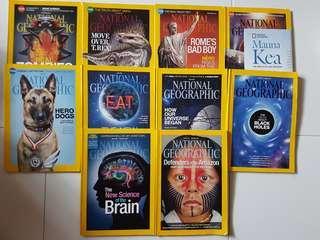 National Geographic Magazine 2014