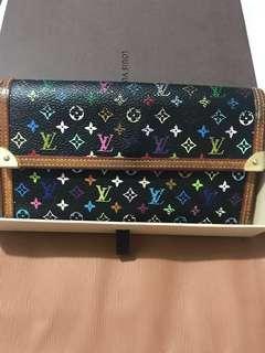 💯LV Multicolor Wallet Php 3900