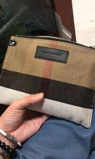 Burberry clutch bag authentic