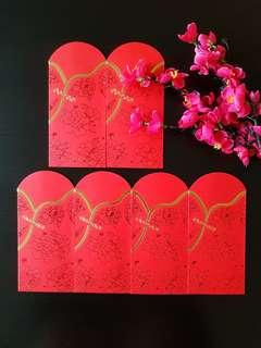 🌹BN 6pcs (Free mail) 2019 Cotton Amour Red Packet ang pow