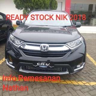BIG PROMO Honda CR-V NIK 2018
