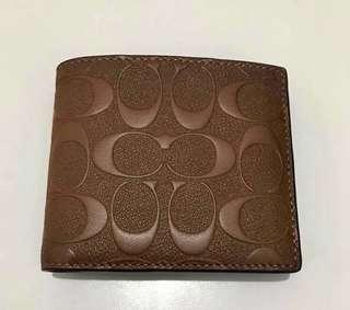 Coach men wallet Original💯 sale