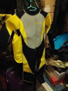 兒童潛水衣防晒衣保暖衣3mm