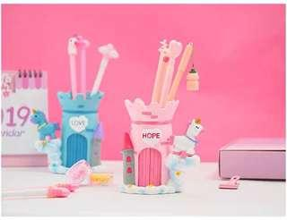 Little Unicorn Pencil Stand Case  - 3R1