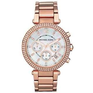 a21034053a7d NEW Michael Kors MK5616 Women s Parker Multi-Function Rose Gold-tone Ladies  Watch