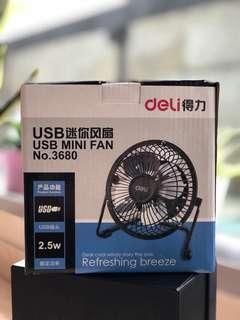 Deli USB Mini Fan
