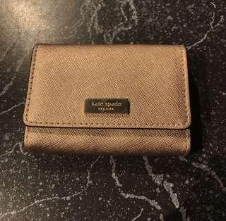 Kate Spade Card Holder Rose Gold