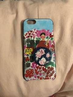 Kate Spade iPhone 6 Case w/ pop socket