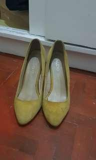 Yellow Aldo Shoes