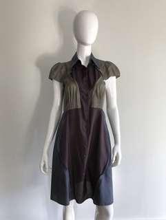 Carven silk dress, Sz 40