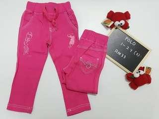 Jeans Polo Girl kids new with tag NWT