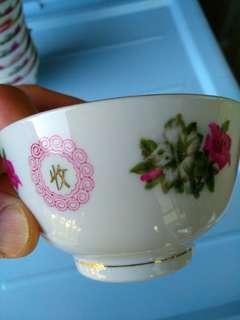 中國醴陵四貴豐收小碗60-70年代國家領導人專用瓷器,庫存新品,儲存超過30年每個36元正,兩個起售。