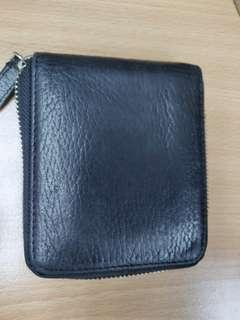 Marks and spencers  full leather zip through wallet