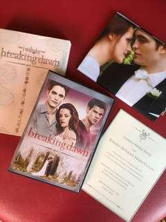 Breaking dawn part 1 DVD extended edition