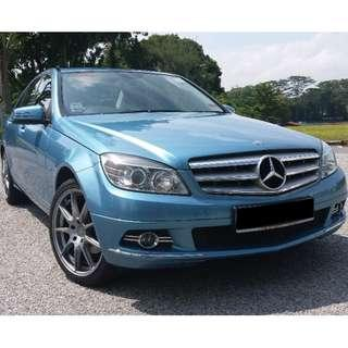 Mercedes Benz C180 available for Long term
