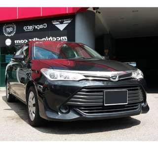 Toyota Axio Long term Ready for all Private Hire Platform (GOJEK/GRAB/RYDE/TA-DA)