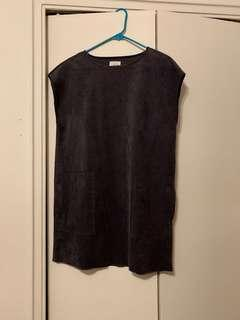 Wilfred grey dress