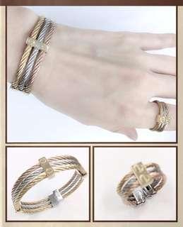 Charriol Bangle and Ring