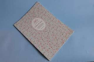 Korean Flower Book // Buku Tulis Unik Simple
