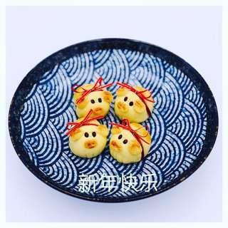 🚚 Handmade piggy pineapple tarts
