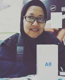 Samsung galaxy A8 2018 RESMI,Kredit Hp murah tanpa CC 3menit