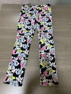H&M Mickey Mouse pants