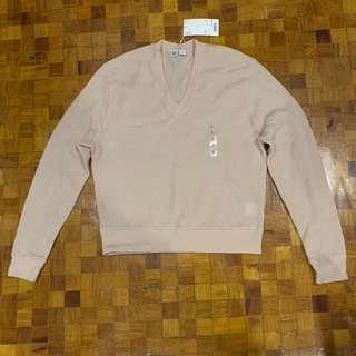 Uniqlo pink wool sweater