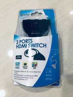3 Ports HDMI Switch